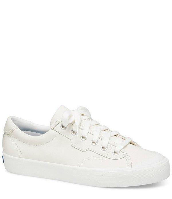 ケッズ レディース ドレスシューズ シューズ Crew Kick 75 Leather Sneakers White