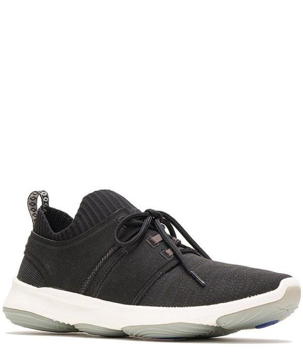 ハッシュパピー メンズ スニーカー シューズ Men's World Knit Lace Up Sneakers Black