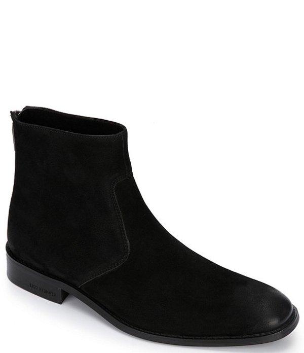 ケネスコール メンズ ブーツ・レインブーツ シューズ Men's Roy Suede Boots Black