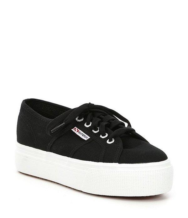 スペルガ レディース ドレスシューズ シューズ Womens 2790A COTW Sneakers Black/White
