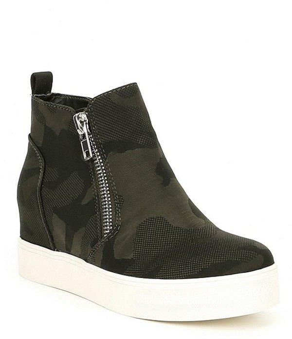スティーブ マデン レディース ドレスシューズ シューズ Wedgie Camo Wedge Sneakers Camoflage