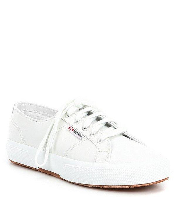 スペルガ レディース ドレスシューズ シューズ Women's 2750 Nappa Leather Sneakers White