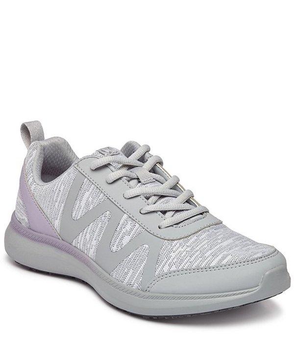 バイオニック レディース ドレスシューズ シューズ Pro Kiara Mesh Lace Up Sneakers Grey