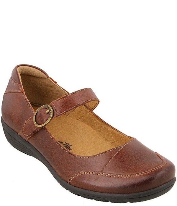 タオスフットウェア レディース パンプス シューズ Uncommon Leather Mary Janes Cognac