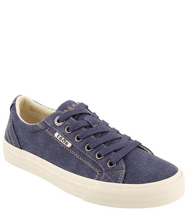 タオスフットウェア レディース ドレスシューズ シューズ Plim Soul Canvas Sneakers Blue Wash Canvas