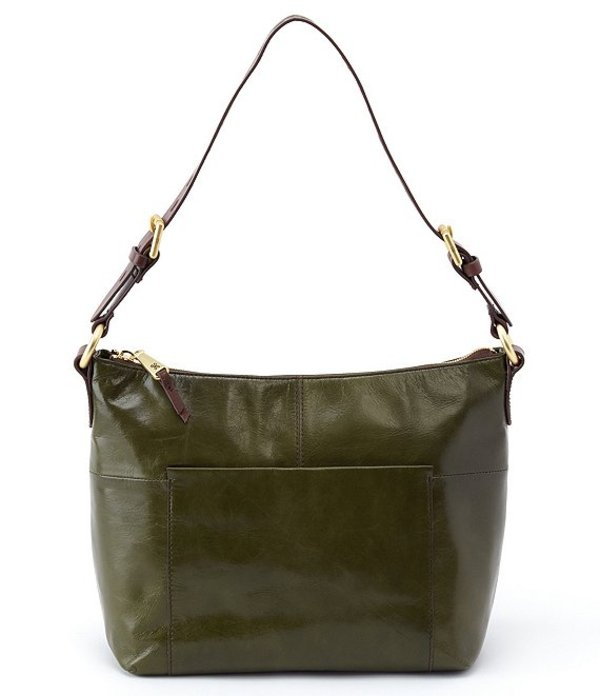 ホボ レディース ショルダーバッグ バッグ Charlie Leather Hobo Bag Mistletoe