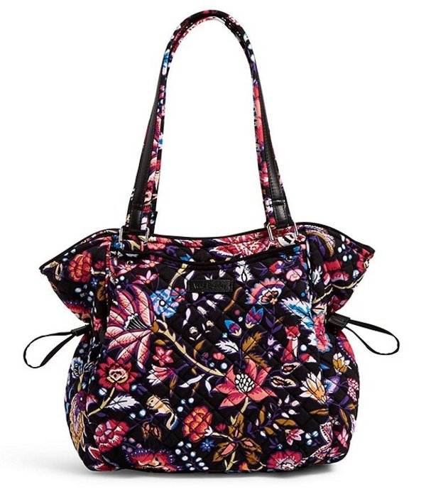 ベラブラッドリー レディース ハンドバッグ バッグ Iconic Glenna Printed Satchel Bag Foxwood