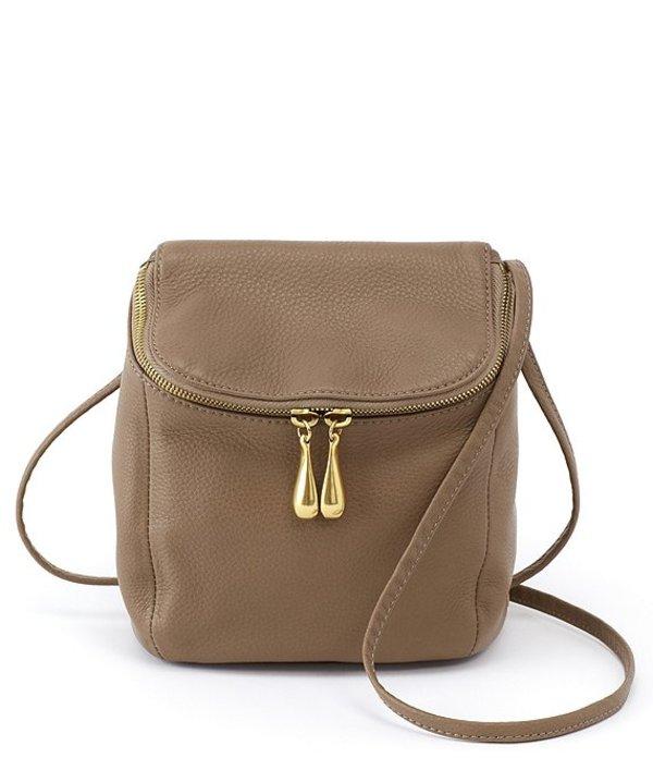 ホボ レディース ショルダーバッグ バッグ Stream Top Grain Leather Convertible Bag Graystone