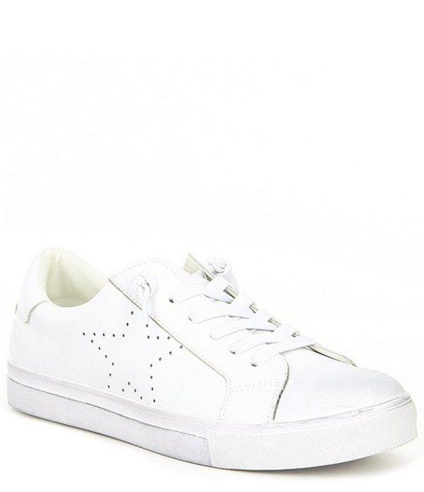 スティーブ マデン メンズ ドレスシューズ シューズ Men's Leather Theory Star Sneaker White