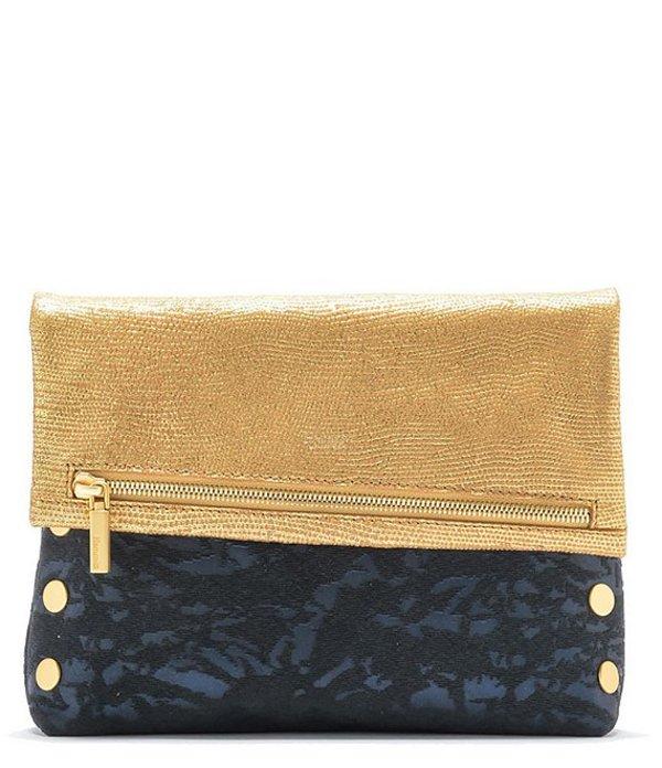 ハミット レディース ショルダーバッグ バッグ Fold Over Colorblock Crossbody Bag Dream/Brushed Gold