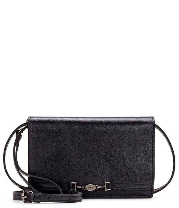 パトリシアナシュ レディース ショルダーバッグ バッグ Heritage Collection Apricale Leather Crossbody Bag Black