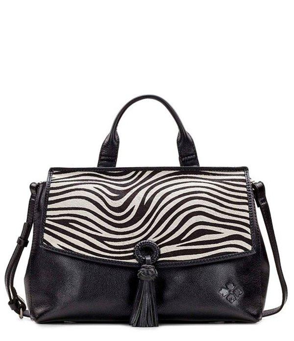 パトリシアナシュ レディース ハンドバッグ バッグ Zebra Collection Mollia Zebra Satchel Bag Zebra