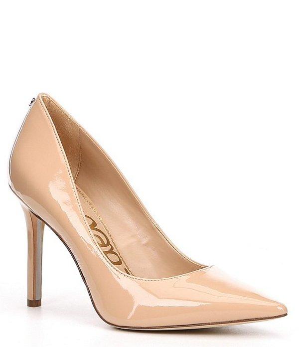 【超特価sale開催】 サムエデルマン レディース ヒール シューズ Hazel Patent Pointed Toe Stiletto Pumps Nude Blush, お店応援資材やさん 3c9cbd4c