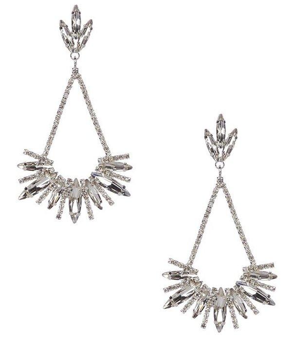 セザンヌ レディース ピアス・イヤリング アクセサリー Star Spike Earrings Silver