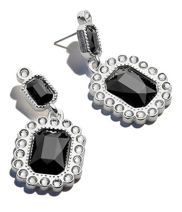 アレックスアンドアニ レディース ピアス・イヤリング アクセサリー Black Emerald Showstopper Earrings Black