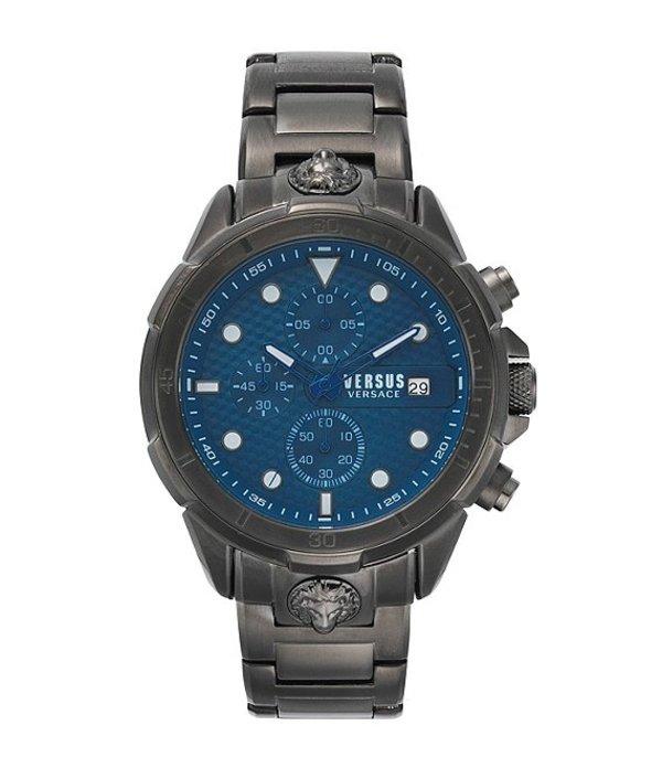 ヴェルサーチ メンズ 腕時計 アクセサリー Versus By Versace Men's 6e Arrondissement Watch Gunmetal