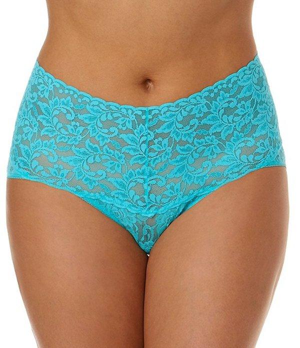 ハンキーパンキー レディース パンツ アンダーウェア Signature Lace Retro V-Kini Panty Beau Blue