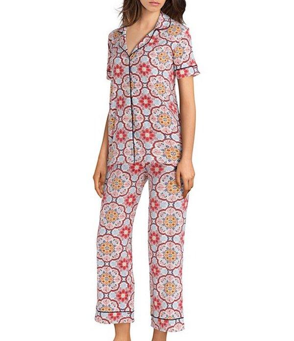 ベッドヘッド レディース ナイトウェア アンダーウェア Pajamas Dynasty Knit Cropped Pajama Set Dynasty