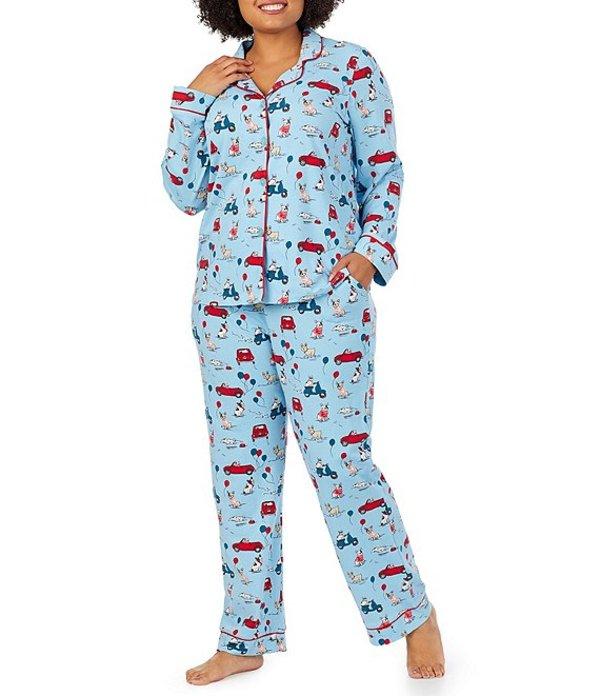 ベッドヘッド レディース ナイトウェア アンダーウェア Pajamas Plus Murray's Day Out Printed Classic Knit Pajama Set Multi
