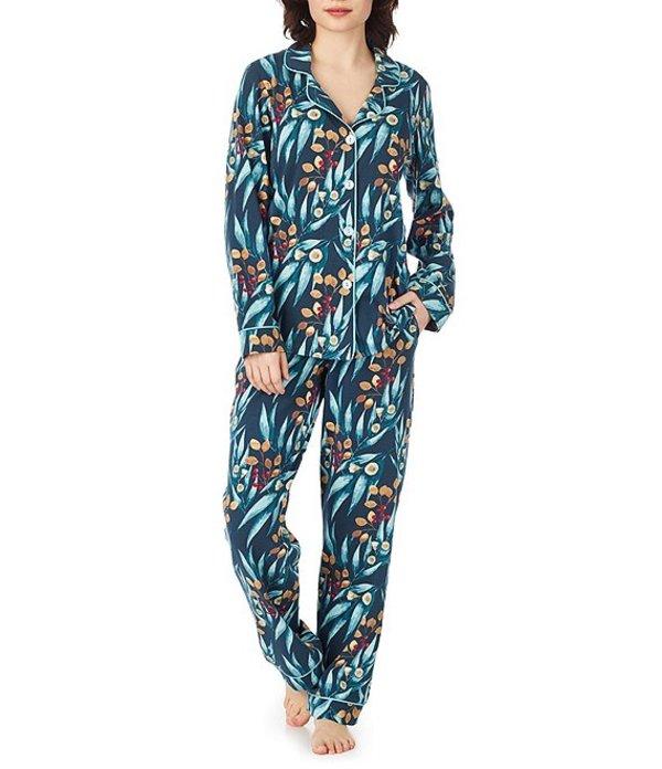 ベッドヘッド レディース ナイトウェア アンダーウェア Pajamas Fall Foliage-Printed Knit Classic Pajama Set Fall Foliage