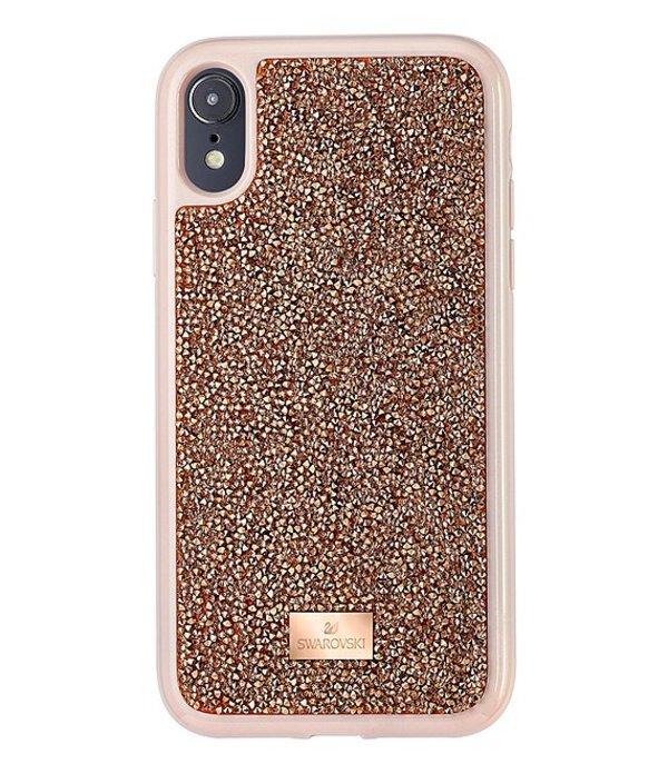 スワロフスキー レディース 腕時計 アクセサリー Glam Rock iPhone Case Pink Gold