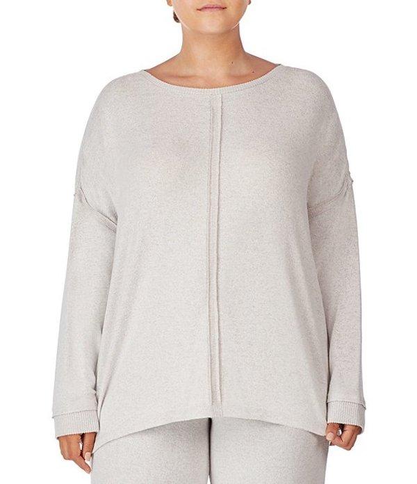 ダナキャラン レディース ナイトウェア アンダーウェア Plus Solid Knit Sleep Top Vanilla