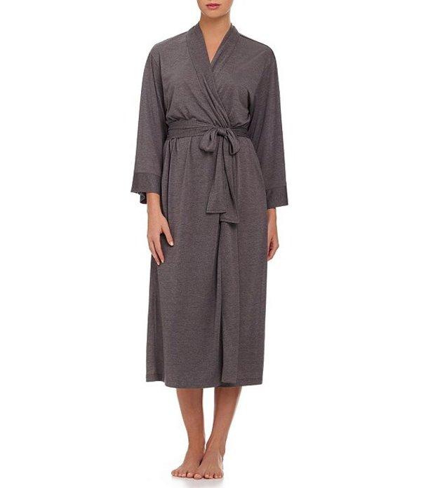 ナトリ レディース ナイトウェア アンダーウェア Congo Long Wrap Robe Grey
