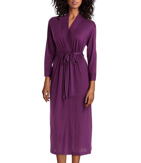 ナトリ レディース ナイトウェア アンダーウェア Congo Long Wrap Robe Violet