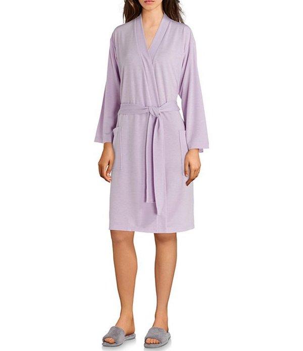 ナトリ レディース ナイトウェア アンダーウェア Nvious Baby French Terry Short Wrap Robe Light Lilac