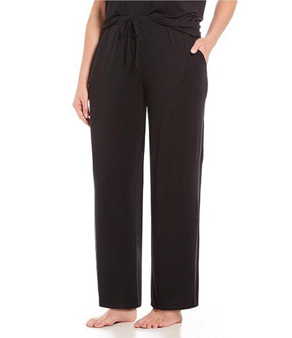ノッティビアンチェ レディース ナイトウェア アンダーウェア Plus Solid Knit Sleep Pants Black