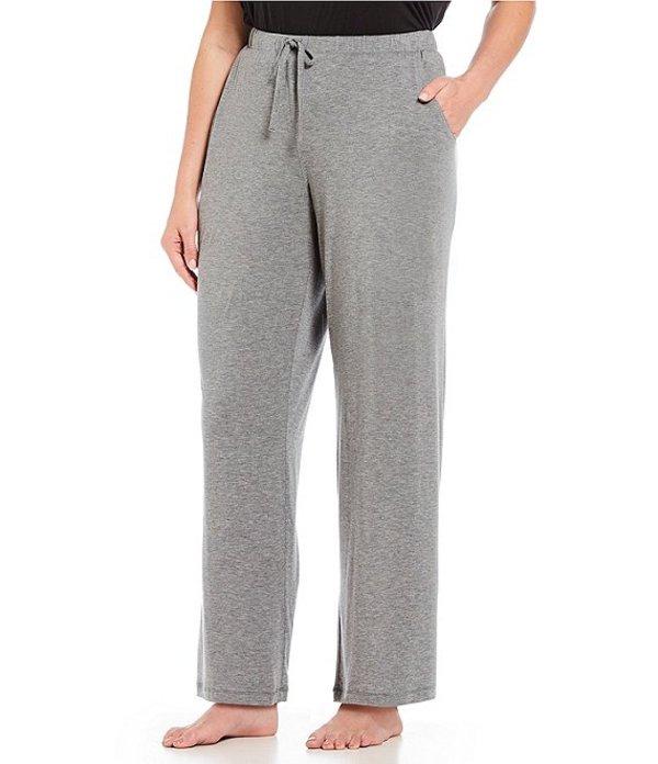ノッティビアンチェ レディース ナイトウェア アンダーウェア Plus Solid Knit Sleep Pants Grey Heather