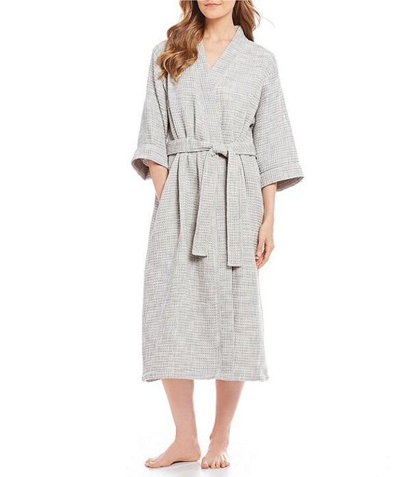 スリープ センス レディース ナイトウェア アンダーウェア SPA Essentials by Sleep Sense Wrap Robe Grey Heather