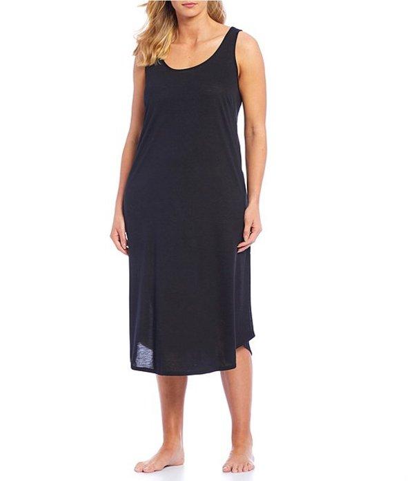 ナトリ レディース ナイトウェア アンダーウェア Plus Gongo Solid Jersey Knit Gown Black