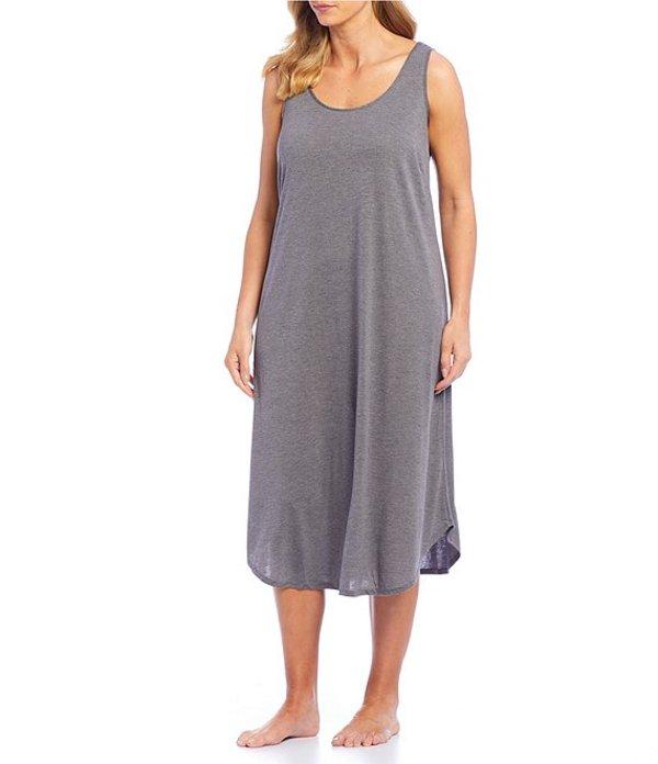ナトリ レディース ナイトウェア アンダーウェア Plus Gongo Solid Jersey Knit Gown Heather Grey