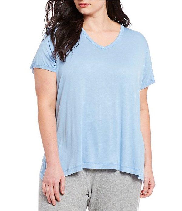 ピージェイサルベージ レディース ナイトウェア アンダーウェア Plus Solid Jersey Knit Sleep Tee Denim
