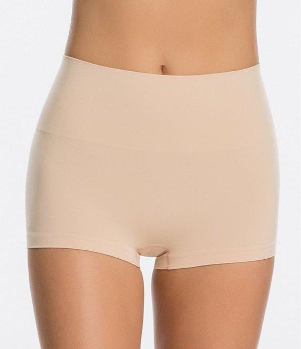 スパンク レディース ブリーフパンツ アンダーウェア Seamless Shaping Boy Short Soft Nude