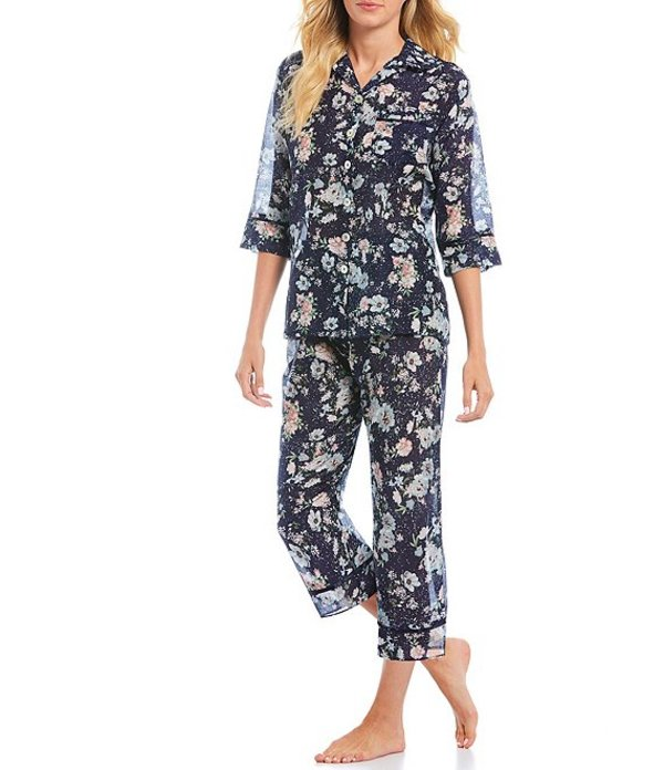 パピネール レディース ナイトウェア アンダーウェア Celeste Signature Blend Pajama Set Multi
