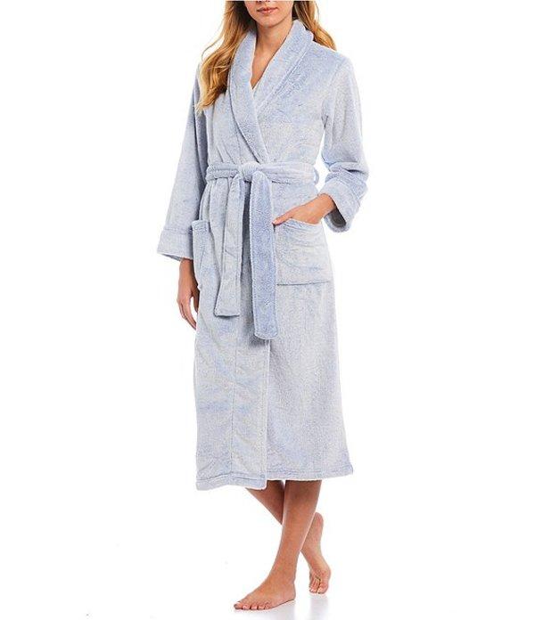 ナトリ レディース ナイトウェア アンダーウェア Frosted Fleece Long Wrap Robe Frosted Soft Blue