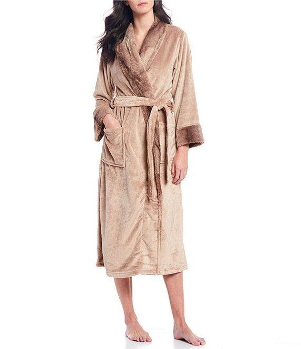 ナトリ レディース ナイトウェア アンダーウェア Fleece Long Wrap Robe Natural Beige