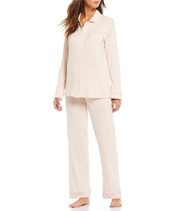 パピネール レディース ナイトウェア アンダーウェア Solid Modal Pajama Set Light Pink