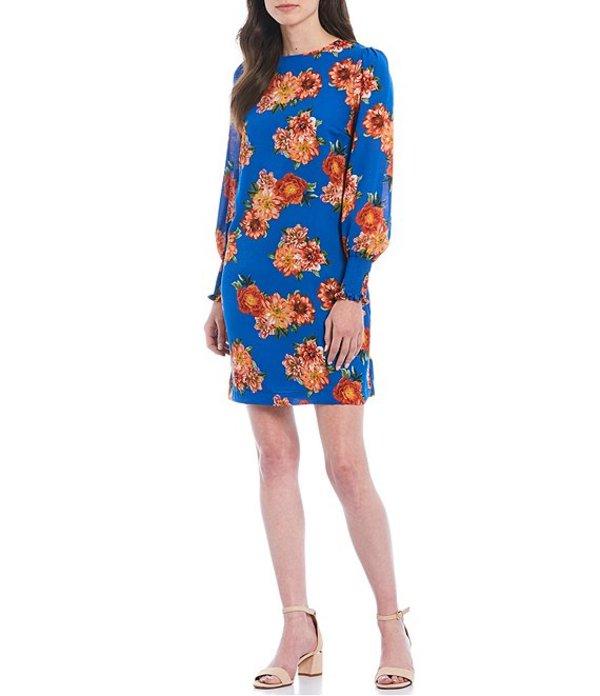 ギブソンアンドラティマー レディース ワンピース トップス Big Floral Print Shift Dress Multi