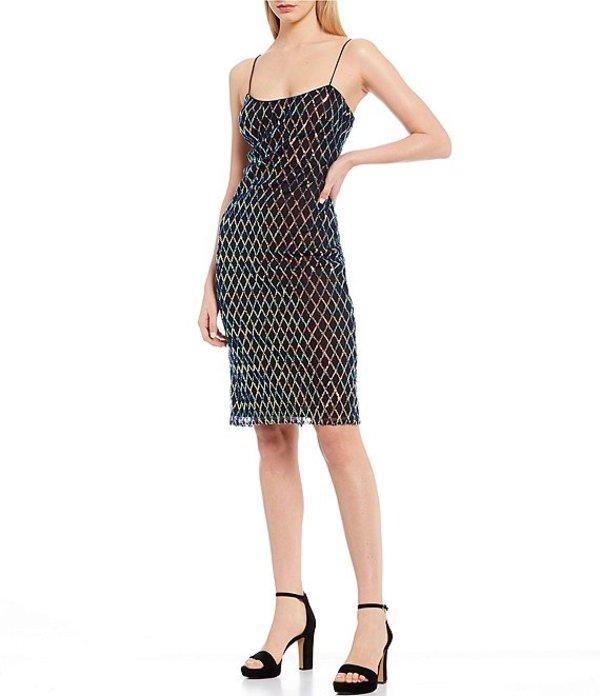 ベルバッジリーミシュカ レディース ワンピース トップス Multi Sequin Dress Black/Multi