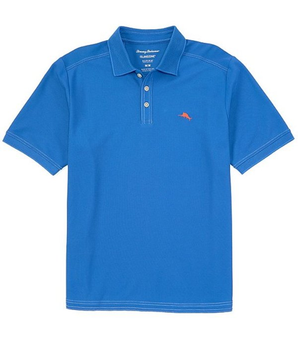 トッミーバハマ メンズ シャツ トップス Emfielder 2.0 Short-Sleeve Polo Shirt Turkish Sea