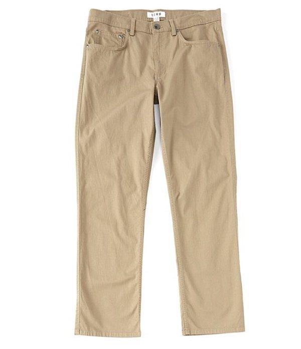 ラウン メンズ カジュアルパンツ ボトムス 5-Pocket Stretch Dobby Pants Camel