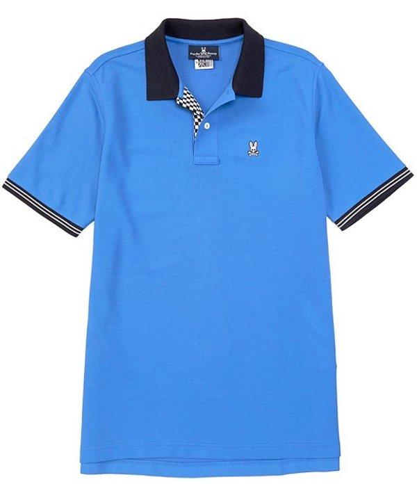 サイコバニー メンズ シャツ トップス Camley Short-Sleeve Polo Shirt Nebulas