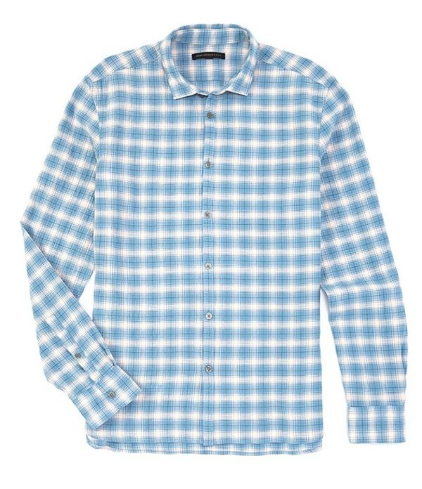 ジョンバルベイトス メンズ シャツ トップス Star USA Slim-Fit Fulton Long-Sleeve Woven Shirt Midnight