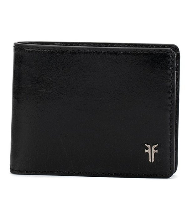 フライ メンズ 財布 アクセサリー Austin Slim ID Glazed Billfold Wallet Black