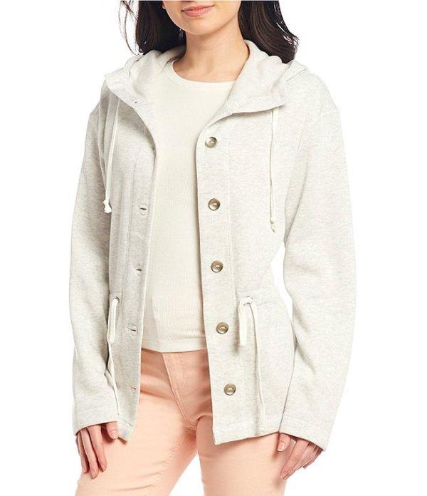 カッパーキー レディース ジャケット・ブルゾン アウター Fleece Button Front Jacket Heather