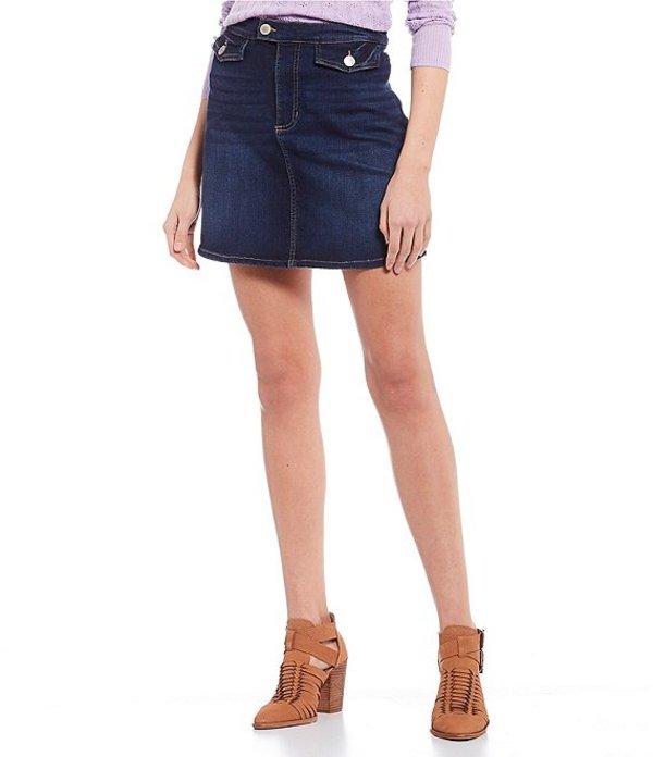 カッパーキー レディース スカート ボトムス Denim Skirt Medium Blue