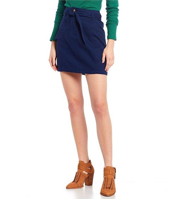 カッパーキー レディース スカート ボトムス Tie Waist Skirt Blue
